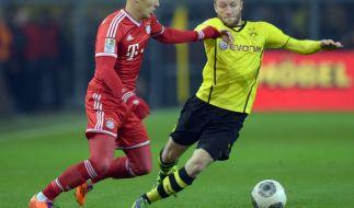 Gegen wen spielen Bayern München und der BVB? Hauptsache nicht gegeneinander! (Foto)