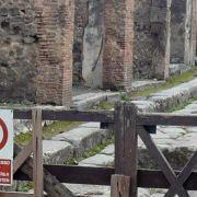 Gegen Vandalismus und Diebstahl in Pompeji (Foto)