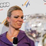 Maria Höfl-Riesch beendet ihrer Karriere (Foto)