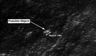 Experten des australischen Geheimdienstes entdeckten auf Satellitenbildern ein 24 Meter langes Objekt. (Foto)