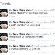 So sagt @uefacorruption die Viertelfinals voraus.