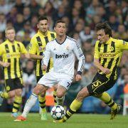 Bayern gegen Rooney, BVB gegen Ronaldo (Foto)