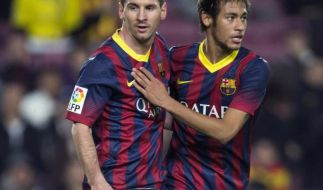 Wirbel um Neymar und Messi vor Clásico in Spanien (Foto)
