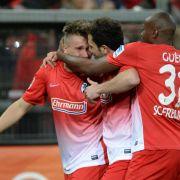 Freiburg feiert wichtigen Sieg im Abstiegskampf (Foto)