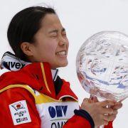 Japanerin Takanashi gewinnt Weltcup-Finale (Foto)