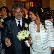 Star-Tenor Andrea Bocelli traut sich noch einmal (Foto)
