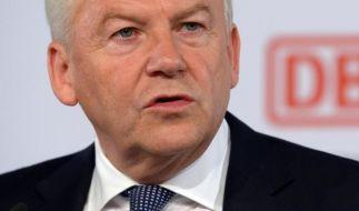 Medien: Bahnchef bekommt kleinere Gehaltserhöhung (Foto)