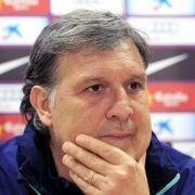 Barça-Coach Martino vor Clásico: Ohne Sieg kein Titel (Foto)