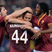 AS Rom mit 2:0-Auswärtssieg in Verona (Foto)