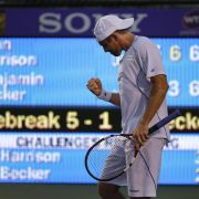 Becker in Miami in der dritten Runde - Mayer sagt ab (Foto)