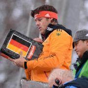 Mittelkürzungen gefährdet Damen-Skispringen (Foto)