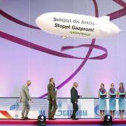 Proteste gegen Gazprom bei Gymnastik-Weltcup (Foto)