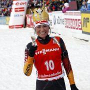 Mit Henkel hört eine Große des Biathlons auf (Foto)