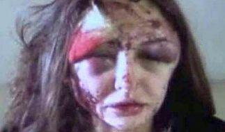 «Wie ein Zombie»: Alexandra Sereda. (Foto)