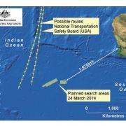 Schwimmt hier das Wrack von Flug MH370? (Foto)