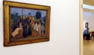 Paula Modersohn-Becker Ausstellung in Bremen eröffnet (Foto)