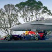 Wer startet schneller: Red Bull oder die Air Force? (Foto)