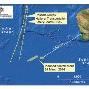 Neue mögliche Wrackteile entdeckt: Schiff versucht Bergung (Foto)