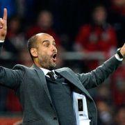 «Stolzer» Guardiola fürchtet keine Bierduschen (Foto)