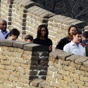 Michelle Obama besucht Terrakotta-Krieger in China (Foto)
