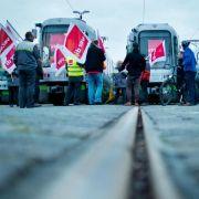 Warnstreiks treffen Niedersachsen und Hessen (Foto)