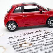 Nachlass Auto:Pflichten beim geerbten Auto (Foto)