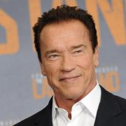 Lachen mit Arnold Schwarzenegger (Foto)