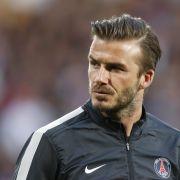 David Beckham wird Taxifahrer (Foto)