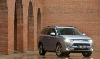 Mitsubishi Outlander als Plug-in-Hybrid ab Mitte Mai im Handel (Foto)
