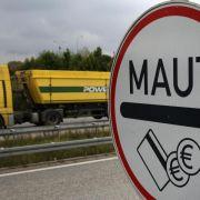 Lkw-Maut soll wegen schwindender Einnahmen ausgeweitet werden (Foto)