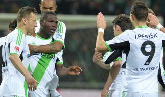Werder verliert gegen Wolfsburg wichtige Punkte (Foto)