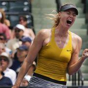 Scharapowa im Halbfinale - Djokovic im Viertelfinale (Foto)
