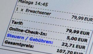 Reise online buchen:Preisangabe immer dokumentieren (Foto)