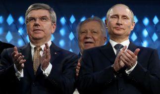 Putin zeichnet IOC-Chef Bach mit Orden der Ehre aus (Foto)
