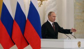 Wladimir Putin einer der mächtigsten Männer der Welt. (Foto)