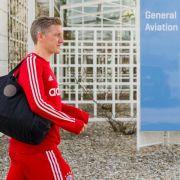 Bayern-Profis nach Meisterparty in München gelandet (Foto)