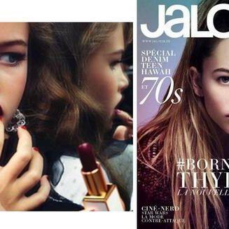 Ist diese Lolita zu jung für den Modeljob? (Foto)