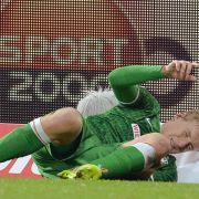 Kapselverletzung: Kroos fehlt Werder mehrere Wochen (Foto)
