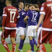 Erzgebirge Aue erkämpft Sieg - 2:1 gegen FSVFrankfurt (Foto)