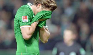 Werder im Abstiegskampf:«Kratzen, beißen, zwicken» (Foto)