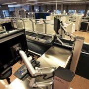 Tarifeinigung für private Flughafen-Sicherheitsleute steht (Foto)