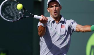 Djokovic nach Sieg über Murray in Miami im Halbfinale (Foto)