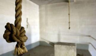 Hier endeten zahllose Leben: Galgen in einem Hinrichtungsraum des berüchtigten irakischen Staatssicherheitsgefängnisses Abu Ghraid. (Foto)