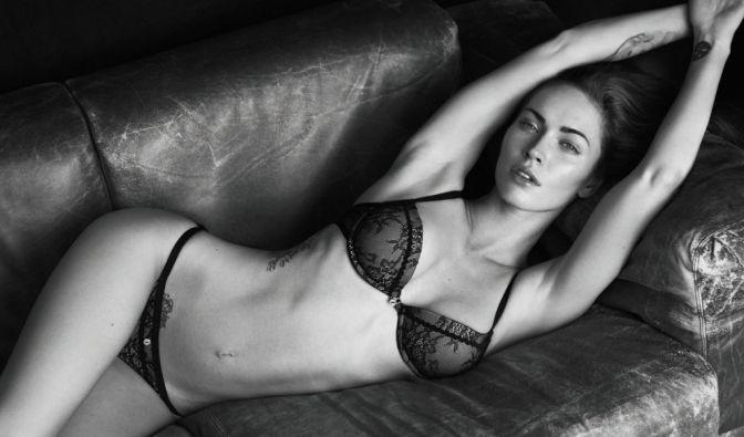US-Schauspielerin und Armani-Model Megan Fox ernährt sich nach Höhlenkriterien. (Foto)