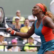 Serena Williams nach Sieg gegen Scharapowa im Finale (Foto)