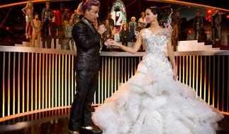 Katniss (Jennifer Lawrence) muss sich erneut den Spielen stellen. (Foto)