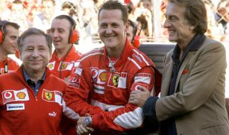 Auszüge aus den 72 Ferrari-Botschaften für Schumacher (Foto)