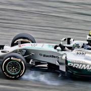 Trainingsbester Rosberg: «Verrückte Bedingungen» (Foto)