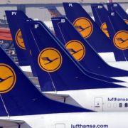 Lufthansa-Piloten streiken ab Mittwoch drei Tage (Foto)