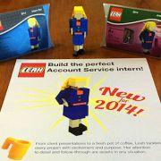 Lego-Leah erobert Personalerherzen (Foto)